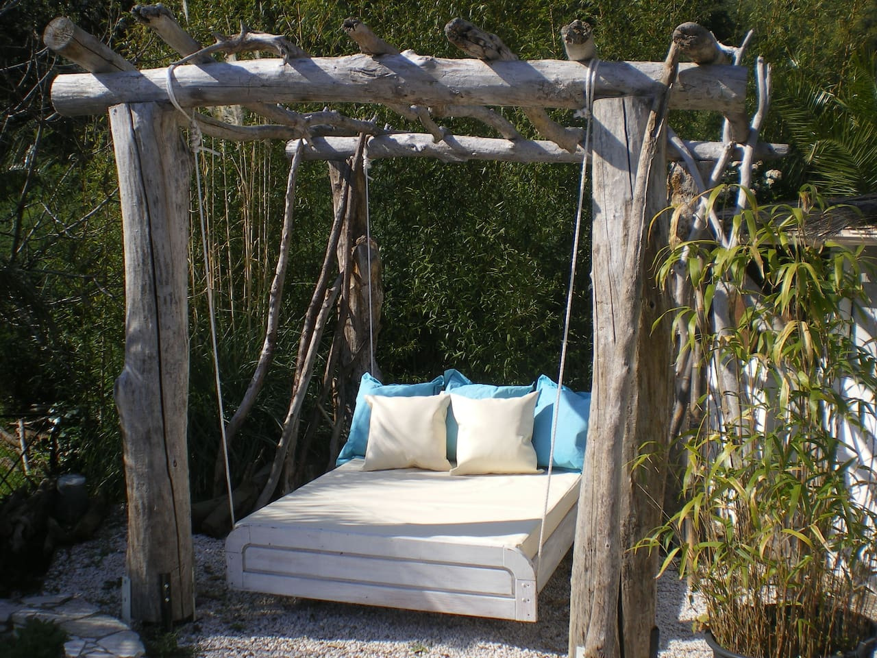 Balinese bed...time to relax