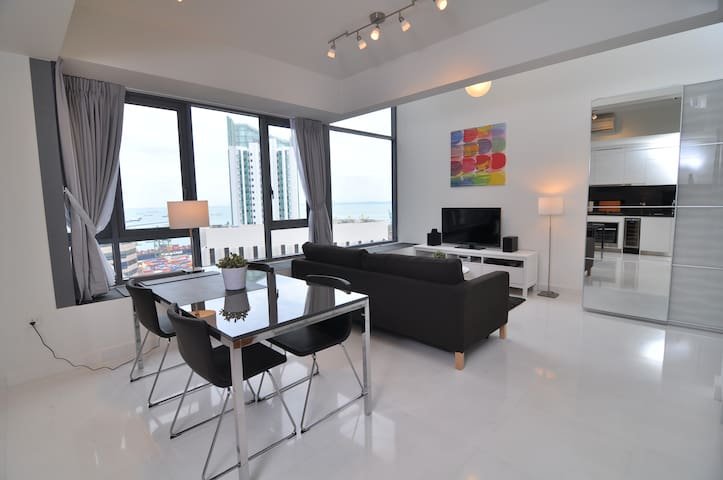 City Center SCENIC High-Floor LOFT, 1-4 Guests#AS - Singapur - Loft