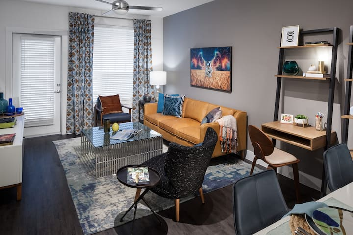 Professionally maintained apt | 1BR in Austin