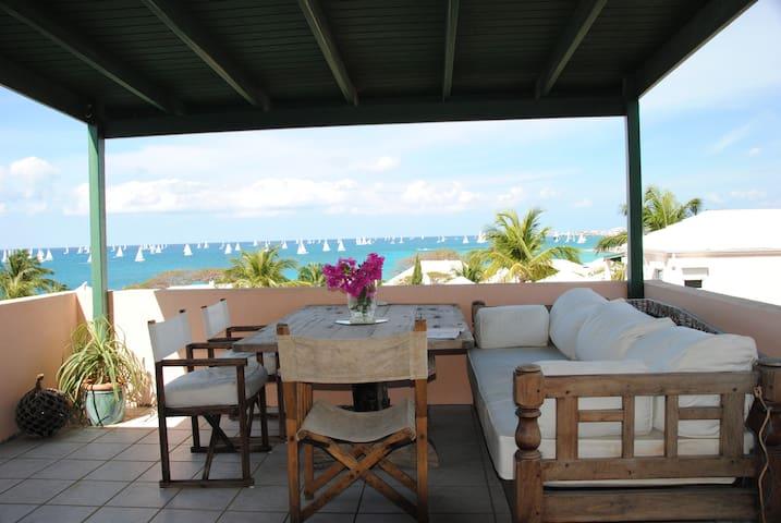 Pelican Sea View 1bdrm Maison Mazu