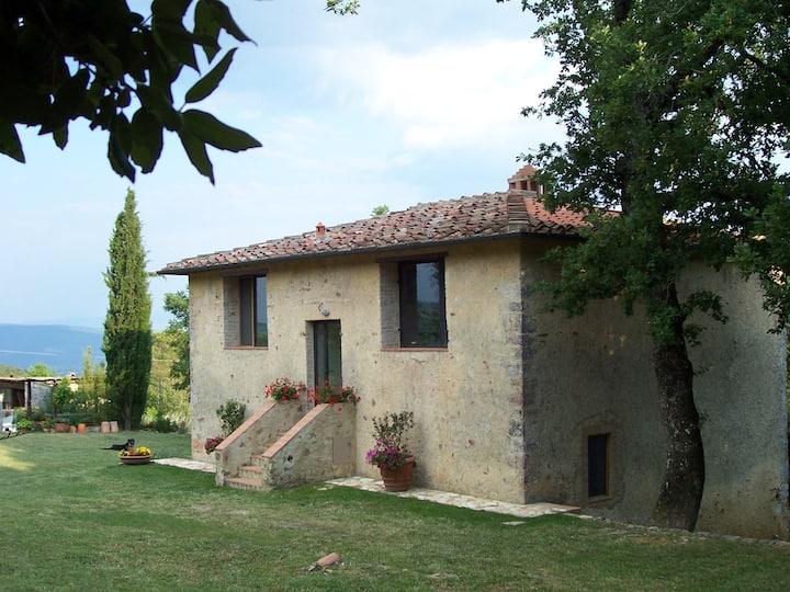 Romantic and quiet stay near Siena, Petriolo SPA