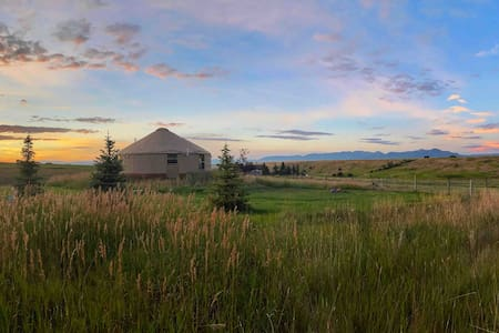 Yonder Yurt: 5 acres of privacy and tranquility