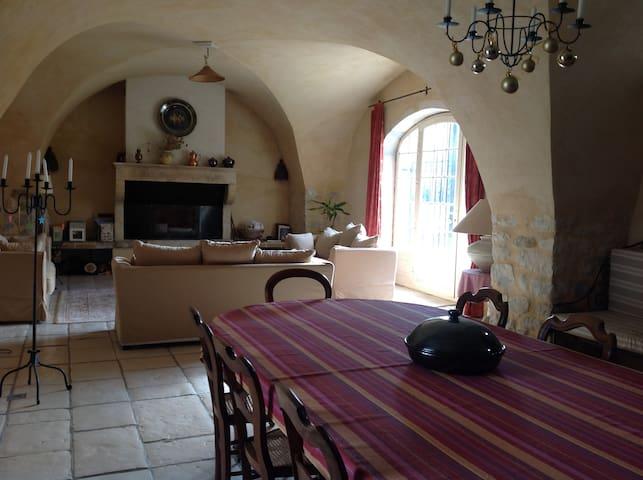 Vacances dans mas provençal 10/12 p - Espeluche - House