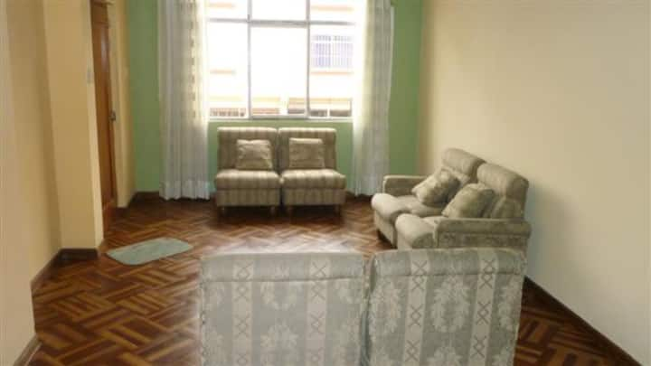 BEDROOM AT FURNISHED APARTMENTS Mayorazgo Lima