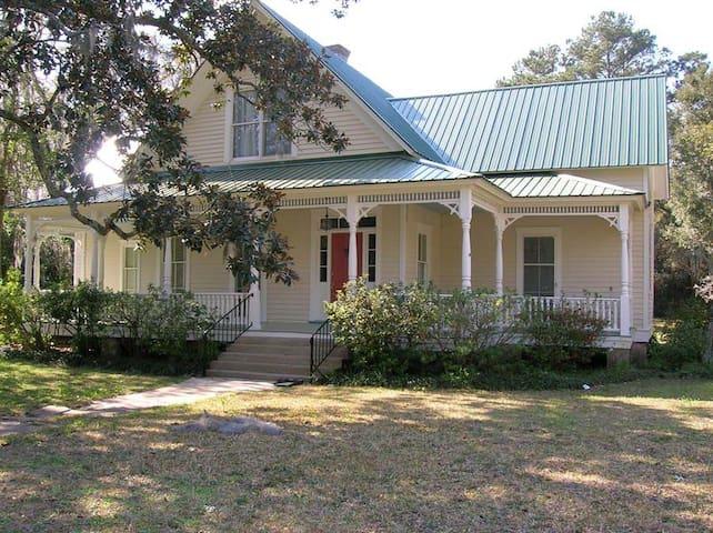 Victorian Captain's House Darien GA - Darien - House