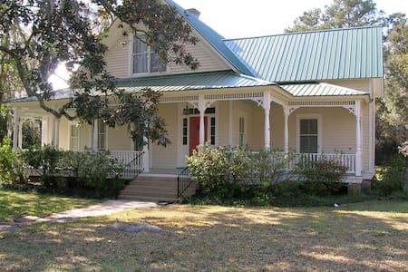 Victorian Captain's House Darien GA - Darien