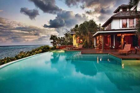 Fuego del Mar. Ocean front villa - Casa de camp