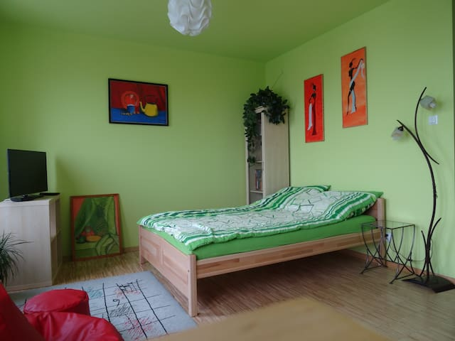 Green and cozy apartment