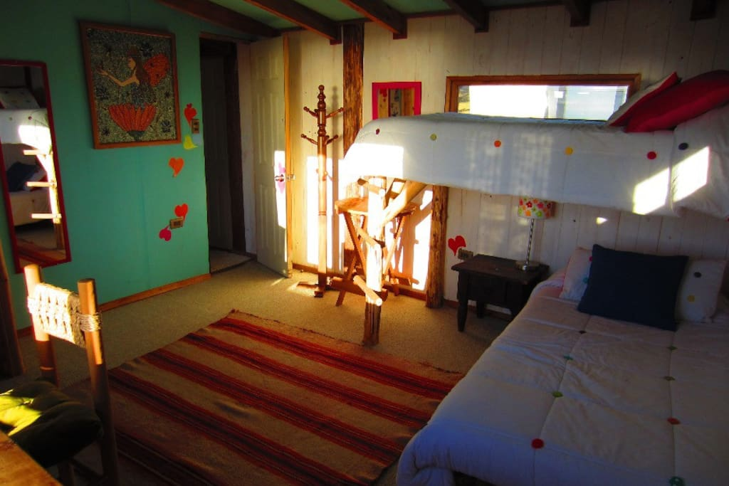 Amplio espacio en las habitaciones