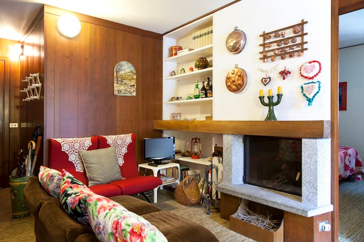 Cozy family flat in the Dolomites - Giustino - Daire