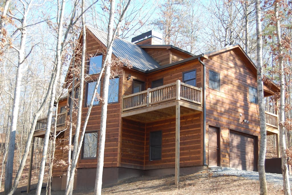 Buck valley lodge private cabin cabins for rent in for Ellijay cabins for rent by owner
