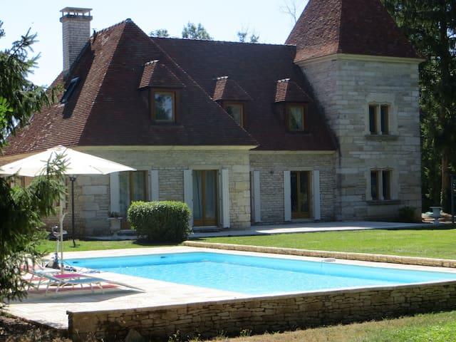 Demeure avec piscine et parc arboré - Bretigny - Dům