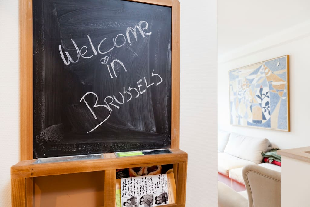 We are happy to welcome you in Brussels!