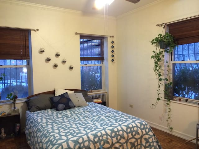 Master bedroom in prime Brooklyn