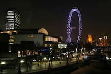 Short walk to the London Eye and South Bank Centre