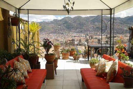 SAYA WASI -BEST VIEW OF CUSCO - D