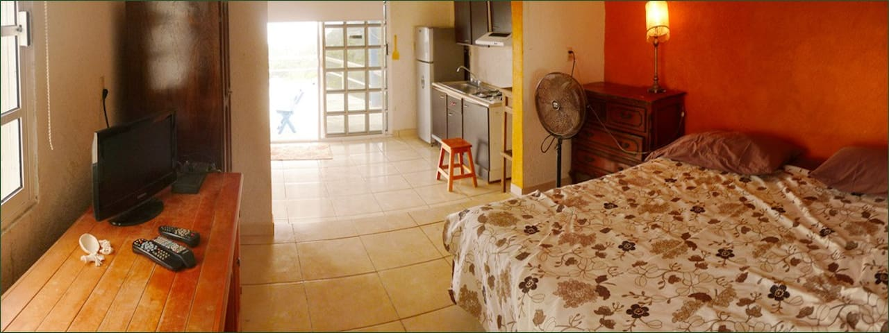 Sea View rooftop Apartment - Zipolite - Apartment