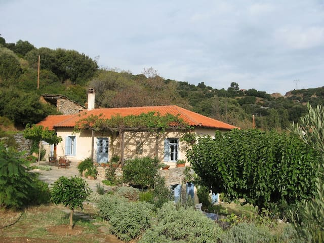Farmhouse in rural Evia near sea - Evia - บ้าน