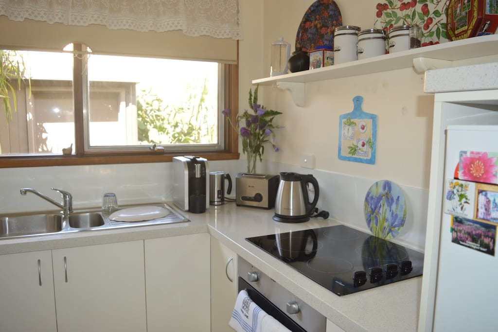 Modern fully-equipped kitchen
