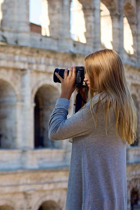Shooting the Colosseum