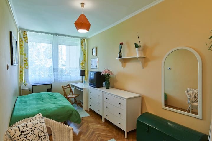 Lovely room on green hill (Buda) - 布達佩斯 - 公寓