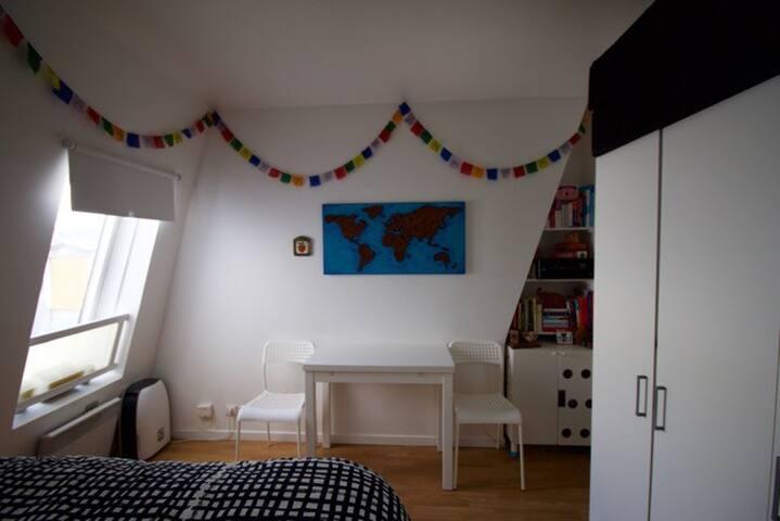 Charmant studio au pied de la butte Montmartre