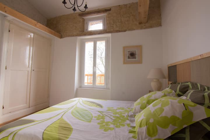 Chambre 2P, piscine, SPA, golf, pays cathare