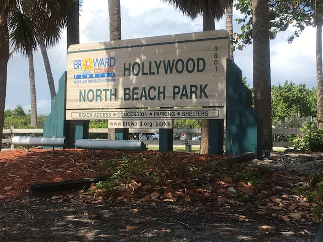 Parks and Beach at only 5 minutes drive