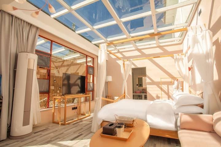 丽江• Star Room3  带阳台观景  立式空调  浴缸  智能家具  智能马桶