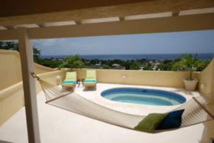 Westlook Barbados with stunning Caribbean sea view