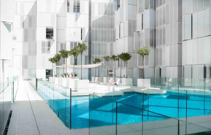 Apartamento Patio Blanco