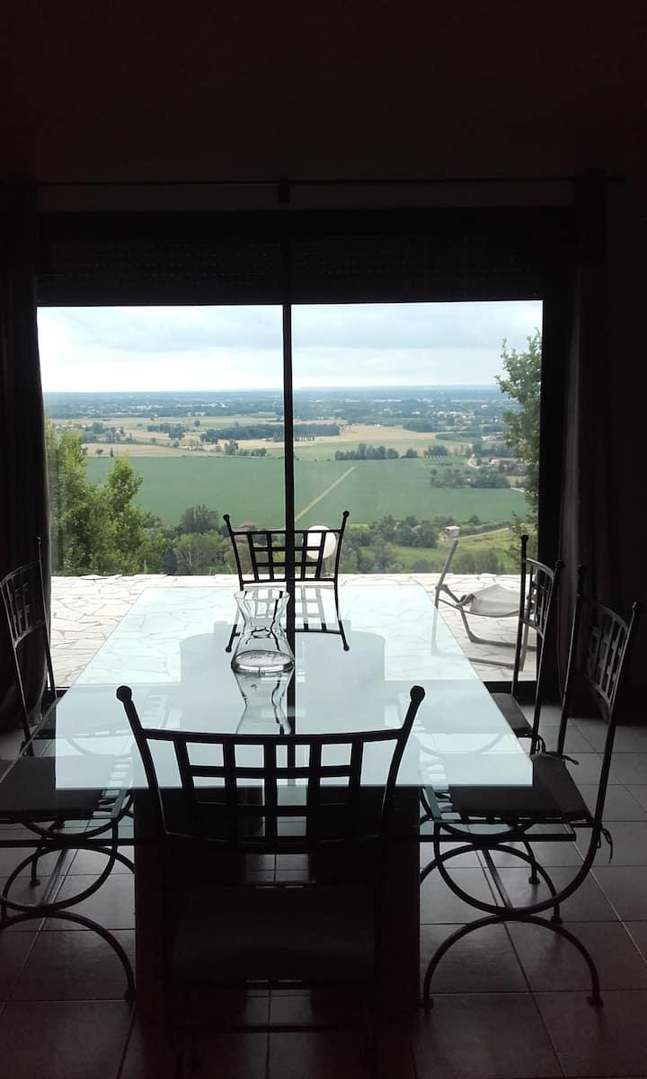 Maison avec très beau point de vue
