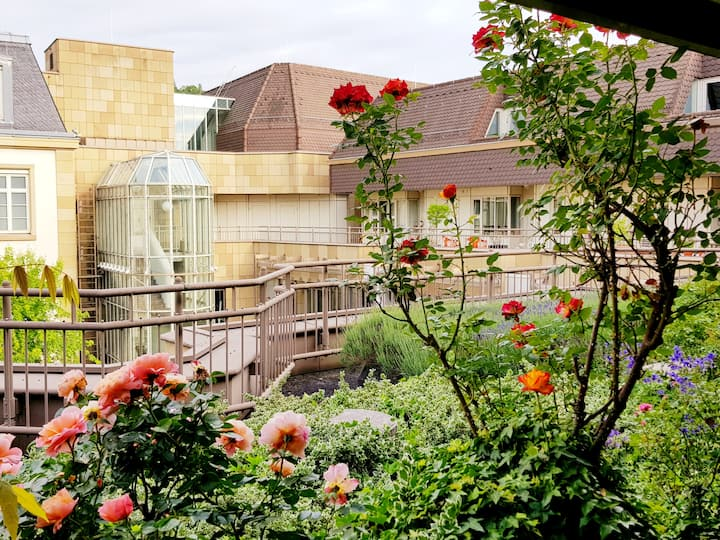 Süßes Apartment über den Dächern von Stuttgart