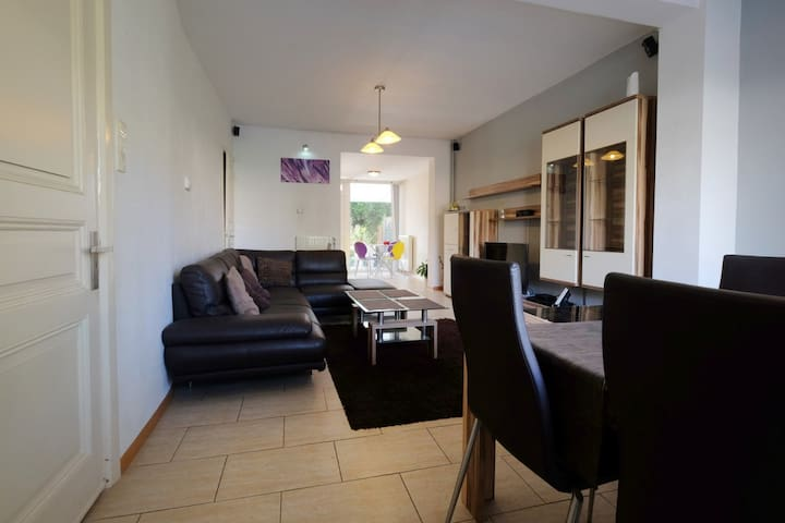 Large luxe home with private garden in Maastricht