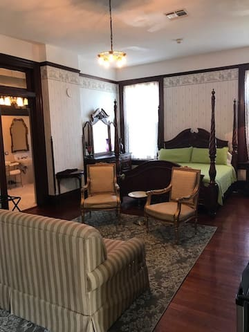 large honeymoon suite for yourself or bring the kids