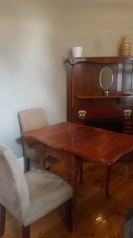 Dining table - leaves extended