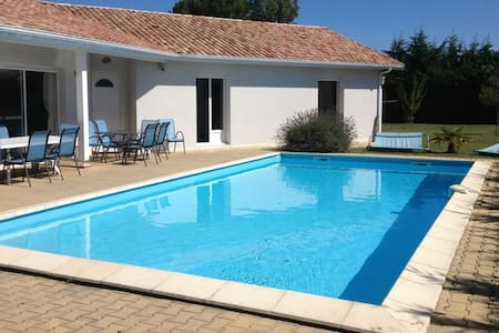 Chambre privée villa piscine lac Cazaux Arcachon - Ла-Тест-де-Бюш - Гостевой дом