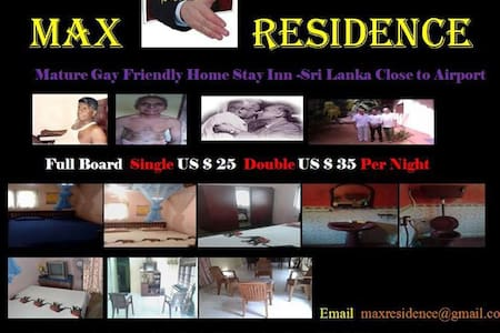 MAX RESIDENCE- Mature Gay  Friendly - Minuwangoda - Casa