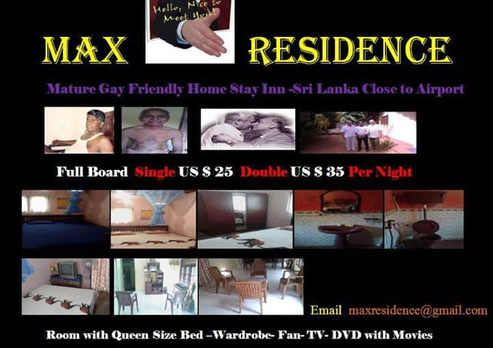 MAX RESIDENCE- Mature Gay  Friendly