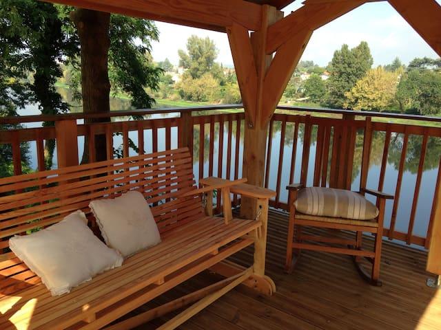 Maison de charme vue sur la rivière - Bergerac - Talo