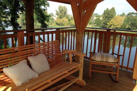 Maison de charme vue sur la rivière - Bergerac - Casa