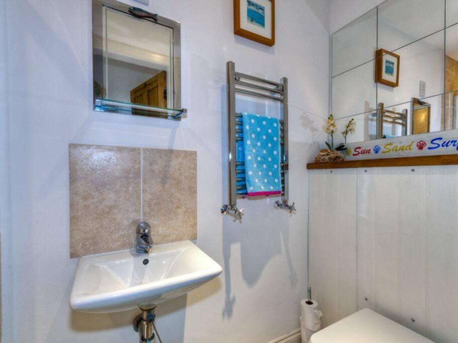 Modern shower room
