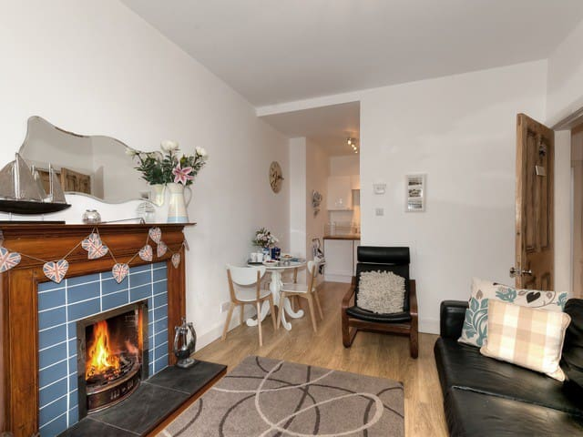 Coastal Apartment with real fire - Aberlady - Apartament