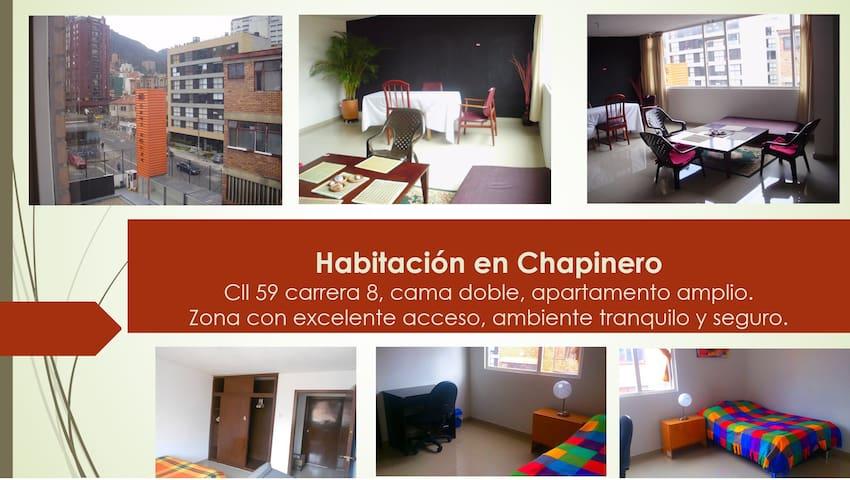 Habitación comoda en Chapinero