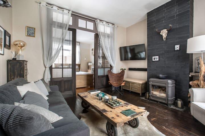 Lille, Appartement  pour 4 avec terasse