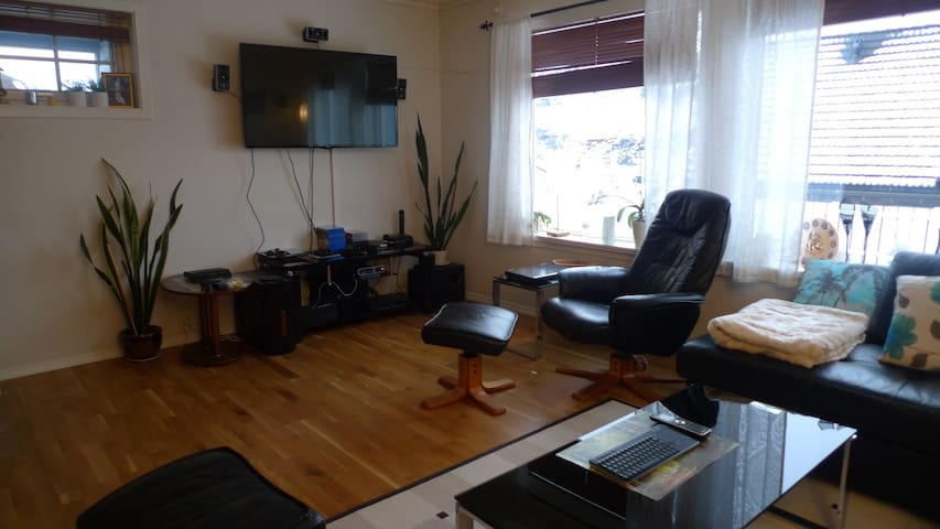 Relaxed environment close to nature - Ulsteinvik - Apartamento