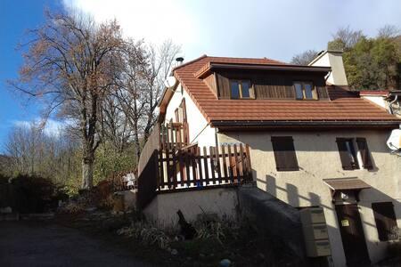 2 p. tout confort avec terrasse maison-montagne - Saint-Firmin - อพาร์ทเมนท์