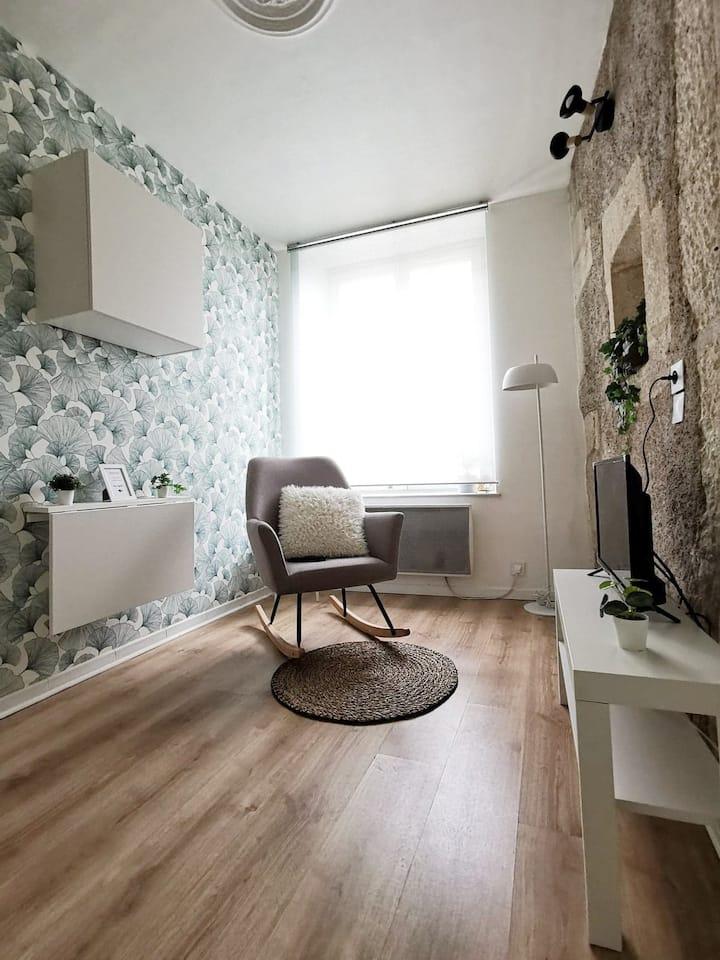 Studio cosy au pays de la Madeleine