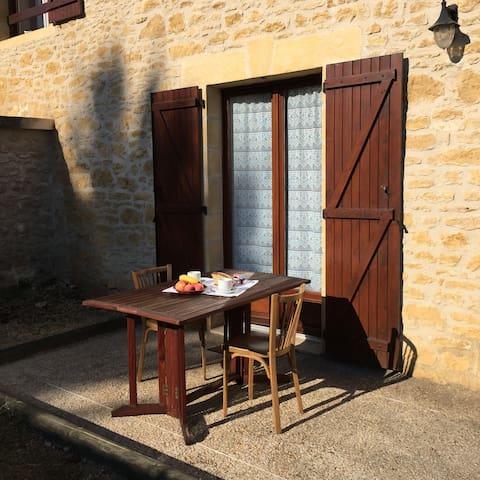 Domaine de Lascaux - Twin room with terrace - Montignac - Pousada