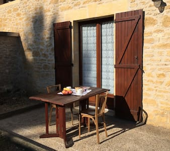 Domaine de Lascaux - Twin room with terrace - Montignac - Bed & Breakfast